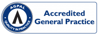 AGPAL Accredited Symbol General Practice